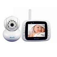 "2.4ghz 3.5 ""150m effectief bereik babyfoon met tweeweg lntercom, nachtzicht, ingebouwde luidspreker"
