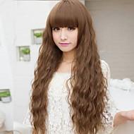 תירס פאה רכה בעלות נמוכה במיוחד חדשה מזעזעת אופנה אירופאית ואמריקנית שיער ארוך חם