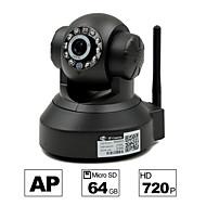 besteye® hd1280 * 720p H.264 wifi ip kamera 1,0 PTZ IR nattesyn wired / wirless 64 GB TF kort