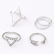 Women's Fashion Metal Wild Ring (5pcs)