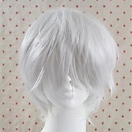 Anime Fashion Natural White High Quality Synthetic Hair