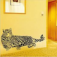 Umwelt abnehmbaren Geparden förmigen PVC-Wandaufkleber