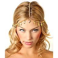 Chaîne pour Cheveux Casque Mariage/Occasion spéciale/Casual/Outdoor Alliage Femme Mariage/Occasion spéciale/Casual/Outdoor