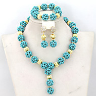 Trendy Indian Bridal Beads Jewelry Set Perfect Bride Gift Wedding Jewelry Set