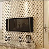 papel de parede contemporânea revestimento de parede geométrico pvc / arte da parede do vinil