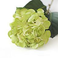 Green Mermaid Hydrangeas Artificial Flowers Set 2