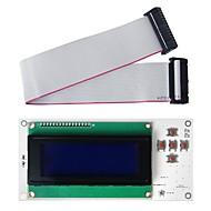 "geeetech mightyboard lcd2004 (3.3 ~ 5V) Smart Controller 3 ""LCD kijelző modul 3D-s nyomtató"