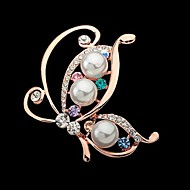 Tina -- Korean New Fashion Alloy Butterfly Dancing Brooch in Party