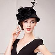 Wol Vrouwen/Bloemenmeisje Helm Speciale gelegenheden/Casual/Kantoor & Cariere/Outdoor HoedenSpeciale gelegenheden/Casual/Kantoor &