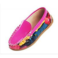 Boy's / Girl's Spring / Summer / Fall Comfort / Moccasin / Round Toe / Closed Toe Leatherette Casual Flat Heel Animal PrintBlue / Pink /