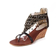 Women's Shoes Peep Toe Wedge Heel  Sandals Shoes More Colors available