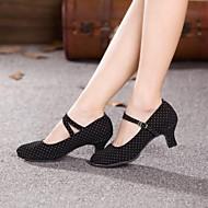 Женская обувь - Замша - Номера Настраиваемый ( Черный ) - Современный танец