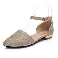 Women's Shoes Glitter Chunky Heel Pointed Toe Pumps Dress More Colors available