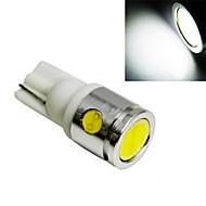 5 pcs ding yao T10 2.5W 4X High Power LED 300LM 6500-7500K Cool White Decorative Decoration Light DC 12V