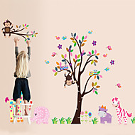 Wall Stickers Wall Decals, Style Forest Animal PVC Wall Stickers