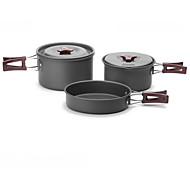 Fire-Maple Outdoor Camping Cookware Set FMC-202 2-3 Picnic With Pan Pot Bowl Spoon Tableware