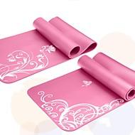 Mats Yoga 183x61x0.6 Non slittamento / Eco-friendly / Non Toxic / Asciugatura rapida 6 Rosa / Viola / Royal Blue