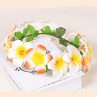 Sunflower Foam/Plastic Wreaths With Wedding/Party Headpiece