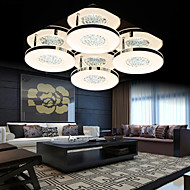 Ecolight® Ceiling Crystal/LED Modern/Living/Bed/Dining/Hallway Metal/Natural