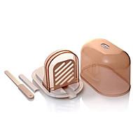 perle Kinzoku miche de pain grillé bricolage trancheuse avec boîte de rangement