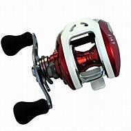 Carrete de la pesca Carretes de lanzamiento 6.3:1 13 Rodamientos de bolas -ManosPesca de Mar / Pesca a la mosca / Pesca de agua dulce /