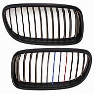 m-color matzwarte grille grill nieren voor BMW E90 E91 3-serie 09-11