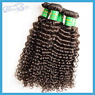 """10Pcs 1Kg Lot Wholesale Indian Virgin Kinky Curly Hair 10""""~28"""" 6A Unprocessed Human Hair Extensions Weft Color1B"""