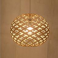 Lustry ,  Kulatá Pochromovaný vlastnost for svíčka Style Kov Obývací pokoj Ložnice Jídelna studovna či kancelář Chodba