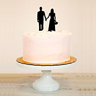 Cake Toppers Classic Couple Acrylic Cake Topper