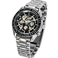 Men's Business Casual Hollow Waterproof Mechanical Watches (Assorted Colors)