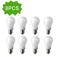8-Pack H+LUX™ CFL A60 E27 16W 900lm CRI>80 2700K Warm White Globe Bulbs (AC220-240V) = 100W Incandescent