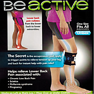 Beactive Pressure Point Brace Back Pain Acupressure Sciatic Nerve Be Active Elbow  Knee LEG Pads