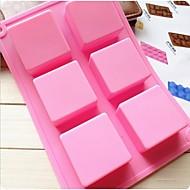módní silikonové soap led modelování bábovka kuchyně Pečení dort čokoláda na vaření zdobení nástroje (random barva)