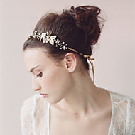 Handmade Women Rhinestone/Crystal/Alloy Headbands With Wedding/Party Headpiece