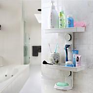 Powerful Sucker Bathroom Shelf&Soap Dish