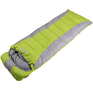 Ветронепроницаемый/Сохраняет тепло/Сжатие видеоизображений/Прямоугольник/Холодная погода - Полиэстер - Спальный мешок (