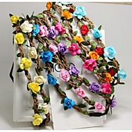 Women  Wreaths With Wedding Headpiece(More Colors)