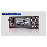 GS50 Car Dvr Allwinner F20 Chipset 2.7 Inch 120 Degree View Angle 4X Digital Zoom Dual Lens