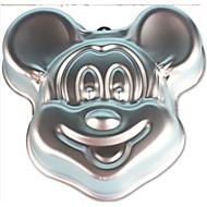 moda bolo pan mickey mouse molde do bolo do partido de metal de alumínio decorar utensílios de cozinha liga baking bolo bakeware cozinha