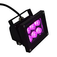 AC85-265V 6W Pink High Power LED Outdoor Aluminium Floodlight