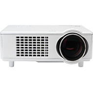 Snbole® Mini LED 3D Home Theater Business Projector 4000 Lumens 1280x800 1080p VGA USB SD HDMI Input T928S