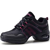 Sapatos de Dança ( Vermelho/Dourado ) - Mulheres - Não Personalizável - Sapatilhas de Dança
