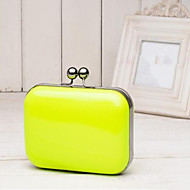 Women PU Casual Evening Bag White / Pink / Blue / Green / Yellow / Orange / Black