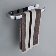 Anel para Toalha / Gadget de Banheiro Cromado De Parede 36*13*7cm(14.2*5*2.7inch) Aço Inoxidável Contemporâneo