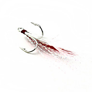 Fishing Hook Barb No. 4 Anchor Hook Feather