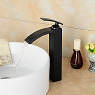 High Quality Oil-rubbed Bronze Bathroom Sink Faucet With Single Handle - Black