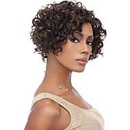 cabelo virgem cabelo humano cor natural brasileira encaracolado Kinky 10-24inch quente em estoque