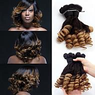 """3pcs / lot, 12 """"-18"""" capelli brasiliani vergini, di estensioni dei capelli ombre, capelli Funmi, fabbrica dei commerci all'ingrosso dei"""