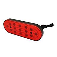 decorazione auto lampada stroboscopica 5w 15LED 480LM spia dei freni posteriore auto lampeggiante lampadina drl impermeabile dc12v rosso