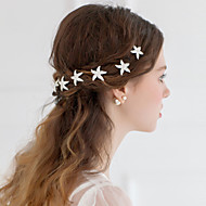 Women/Flower Girl Rhinestone/Alloy Starfish Hairpins With Wedding/Party Headpiece (Set of 6)